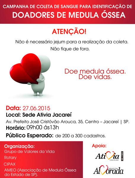 Campanha de Coleta de Sangue para Identificação de Doadores de Medula Óssea